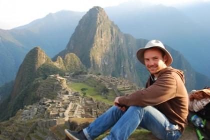 Étudiant au Machu Picchu